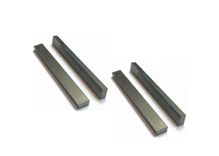 Hard Alloy Carbide Wear Strips / Tungsten Carbide Grade K10 Grey Color