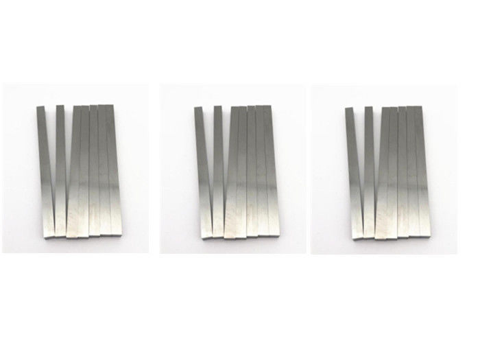 High Hardness Carbide Flat Strips Corrosion Resistance Square Carbide Blanks