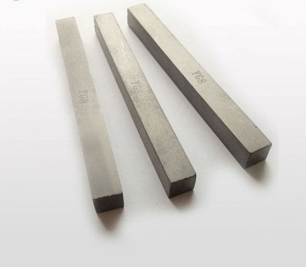 Sintered Square Tungsten Carbide Bar / Various Grade Tungsten Carbide Rod Blanks