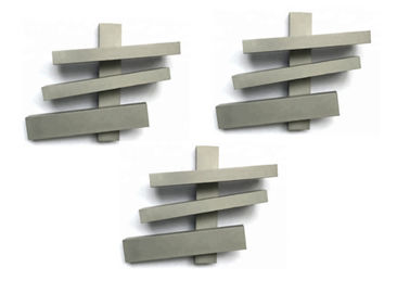 China K20 K30 K40 Tungsten Carbide Strips / Tungsten Carbide Flat Bar Wear Resistance factory