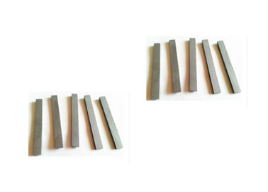 Sintered Cemented Carbide Flat Strips Various Sizes / Grades OEM Available