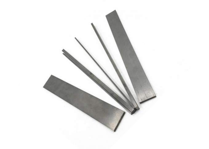 K15 K20 K30 Tungsten Carbide Strips Size Customized Gray Color For Planer Blade